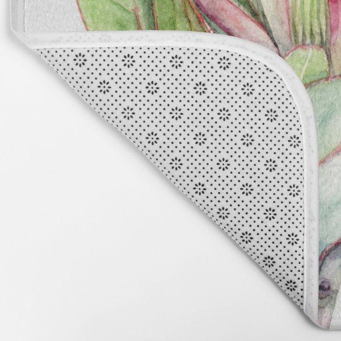 Protea Flower Bath Mat