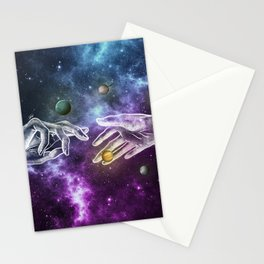 The meeting of souls. Stationery Cards