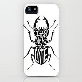 Typo Bug iPhone Case