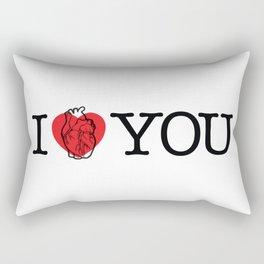 I Really Heart You Rectangular Pillow