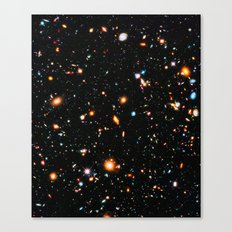 Hubble Ultra Deep Field Canvas Print