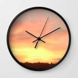 Sunset 504 Centre Focus Wall Clock