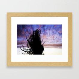 JUMPING BEAN Framed Art Print