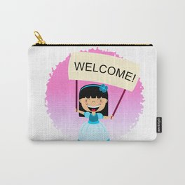 Welcome Carry-All Pouch