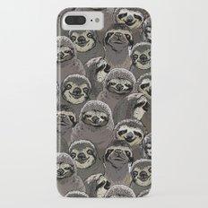 Social Sloths iPhone 7 Plus Slim Case