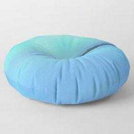 Island in the Sky Floor Pillow