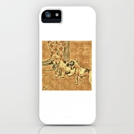 Dogs Large and Small, Ideal for Dog Lovers (27) iPhone Case