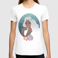 siren T-shirts featuring Siren by viviennart