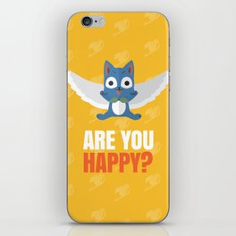 Are you Happy? iPhone Skin