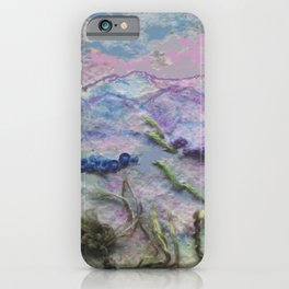 Evening over the Slieve Blooms iPhone Case
