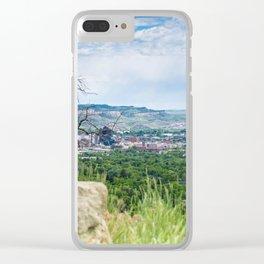 Billings Clear iPhone Case