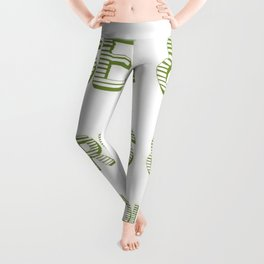 Sex and Drugs and Guacamole  Leggings