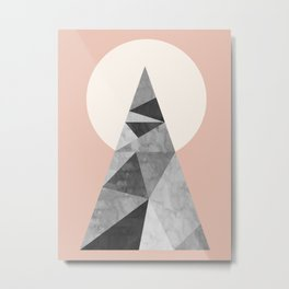 Polygon geometry XIII Metal Print