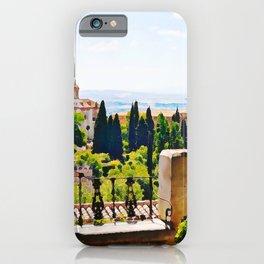Alhambra Gardens - Granada, Spain iPhone Case