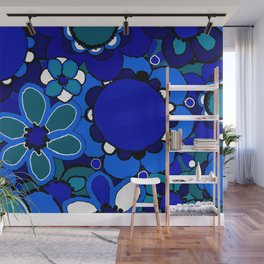 Floral Print Wall Mural