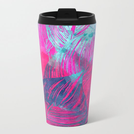 Hot n Drunk Pink #society6 #decor #fashion #buyart Metal Travel Mug