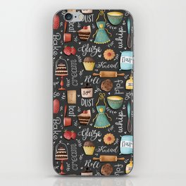 Bake Love Pattern iPhone Skin