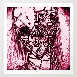 RED DEAD! Art Print