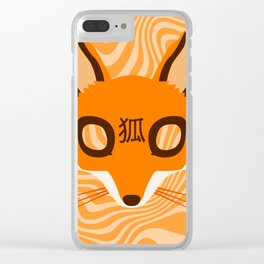 Kitsune ! Clear iPhone Case