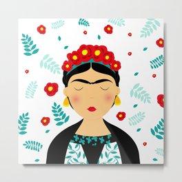 Dear Frida Metal Print