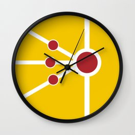 Firestorm Weapon Wall Clock
