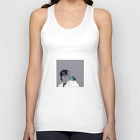 john snow Tank Tops featuring John by Cyrille Savelieff