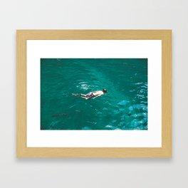 Float, Don't Sink Framed Art Print
