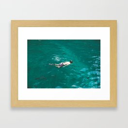 Float, Don't Sink Framed Art Print
