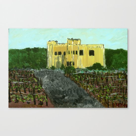Sand Castle Winery Canvas Print