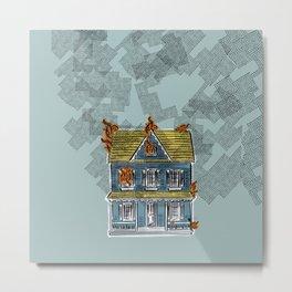 SMOKE - DOLLHOUSE - GREEN Metal Print