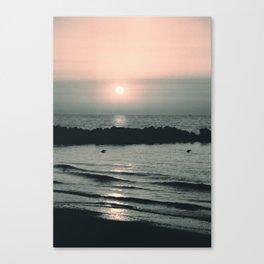 Sunset Ocean Bliss #4 #nature #art #society6 Canvas Print