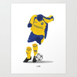 Torquay United 2003 - 05  Art Print