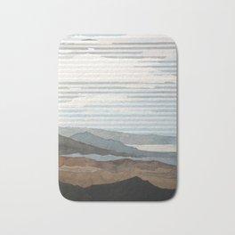 Salton Sea Landscape Bath Mat