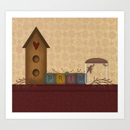 Primitives Art Print