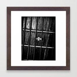 Frets Framed Art Print