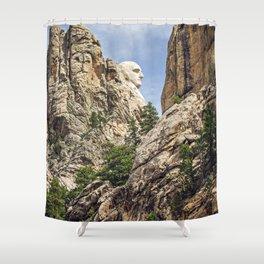 George Washington's Profile Shower Curtain