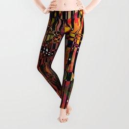 The Circus- Neon Abstract  Leggings