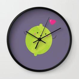 Love lime Wall Clock