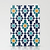 islam Stationery Cards featuring Marrakesh by Patterns and Textures