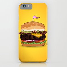 Bacon Cheeseburger iPhone 6s Slim Case