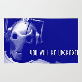 Dr Who 50th anniversary * Cybermen * Tv Series Inspiration Rug