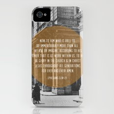 Ephesians 3:20-21 Slim Case iPhone (4, 4s)