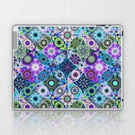 Moroccan bazaar | blue Laptop & iPad Skin