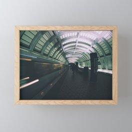 Morning Commute Framed Mini Art Print