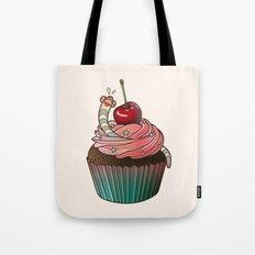 SWEET WORMS 1 - cupcake Tote Bag