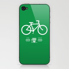 Infinity MPG (Society6 Edition) iPhone & iPod Skin