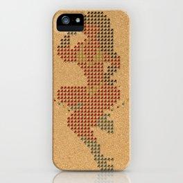 Push Pin Up iPhone Case