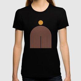 Abstraction_SUN_LINES_VISUAL_ART_Minimalism_001 T-shirt