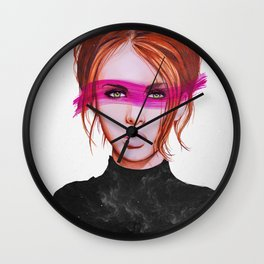 Eternal Gaze  Wall Clock