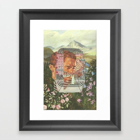 Fanatic Framed Art Print